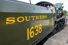 SHEFFIELD PARK, SUSSEX/UK - JULY 26 : U class locomotive at Shef Royalty Free Stock Images