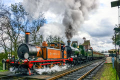 SHEFFIELD PARK, SUSSEX/UK - OCTOBER 26 : Stepney on the move at Royalty Free Stock Photo