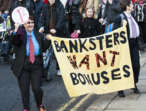 Sheffield Pensions Strike Stock Photos