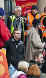 Sheffield Pensions Strike Stock Photo