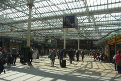 Sheffield Railway Station Image stock