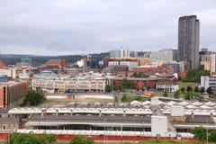 Sheffield Regno Unito Fotografie Stock Libere da Diritti