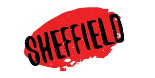 Sheffield rubber stamp Stock Images