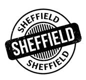 Sheffield rubber stamp Stock Photography