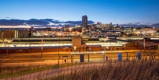 Sheffield skyline, England Stock Images