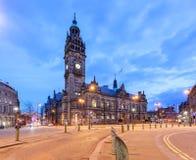 Sheffield stadshus Arkivfoton