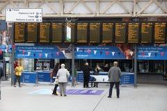 Sheffield Station Lizenzfreies Stockfoto