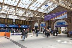 Sheffield Station, Großbritannien Lizenzfreie Stockfotos