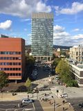Sheffield sztuk uniwersytecki wierza Zdjęcie Stock