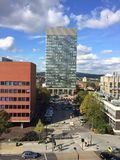 Sheffield sztuk uniwersytecki wierza Fotografia Stock