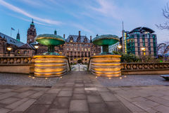 Sheffield town centre Royalty Free Stock Images
