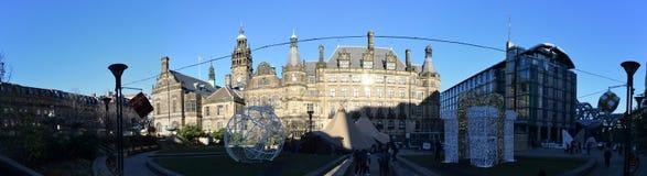 Sheffield Town Hall, Sheffield, Regno Unito Immagine Stock Libera da Diritti