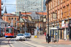 Sheffield UK Arkivbild