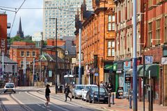 Sheffield UK Arkivbilder