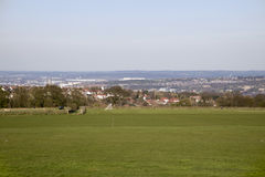 Sheffield. A view across Sheffield from Whirlow Royalty Free Stock Photo