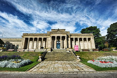 Sheffield Weston Park Museum. Weston Park Museum on a sunny autumn afternoon, Sheffield Royalty Free Stock Image