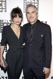 Sheherazade Goldsmith and Alfonso Cuaron Royalty Free Stock Photo