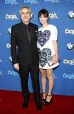 Sheherazade Goldsmith and Alfonso Cuaron Royalty Free Stock Image