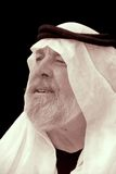 The Sheik is Confused. About what he's looking at Stock Images