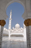 Sheik Zayed Grand Mosque Royalty Free Stock Images