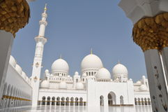 Sheik Zayed Grand Mosque Royalty Free Stock Image