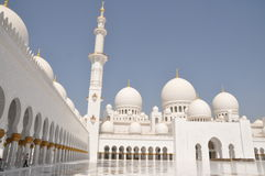 Sheik Zayed Grand Mosque Royalty Free Stock Photos