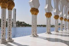Sheik Zayed Grand Mosque Stock Image