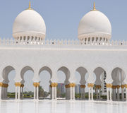 Sheik Zayed Grand Mosque Stock Photography