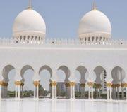 Sheik Zayed Grand Mosque Stock Photography