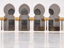 Sheik Zayed Grand Mosque Stock Photos