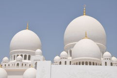 Sheik Zayed Grand Mosque Royalty Free Stock Photos