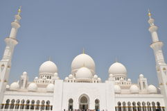 Sheik Zayed Grand Mosque Royalty Free Stock Photography