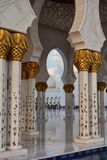 Sheik Zayed Grande Mosque Stock Image