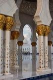 Sheik Zayed Grande Mosque Stock Image