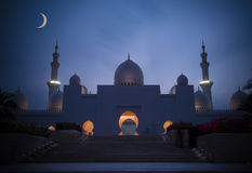 Sheik Zayed Mosque. Stock Images