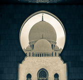 Sheik Zayed Mosque. Royalty Free Stock Photography