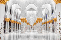 Sheik Zayed Mosque. Stock Photography