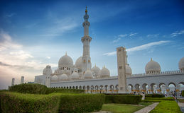 Sheik Zayed Mosque. Royalty Free Stock Image