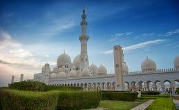 Sheik Zayed Mosque. Royalty Free Stock Image