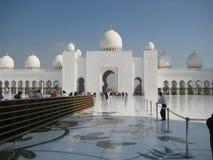 Sheikh μεγάλο μουσουλμανικό τέμενος Zayed στο Αμπού Νταμπί - ΙΙ Στοκ φωτογραφίες με δικαίωμα ελεύθερης χρήσης