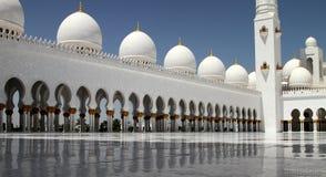Sheikh μεγάλο μουσουλμανικό τέμενος 2 Zayed Στοκ εικόνα με δικαίωμα ελεύθερης χρήσης