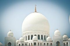 Sheikh μουσουλμανικό τέμενος Zayed, Αμπού Ντάμπι, Ηνωμένα Αραβικά Εμιράτα στοκ εικόνα