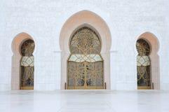 sheikh μουσουλμανικών τεμενώ&n Στοκ Φωτογραφίες