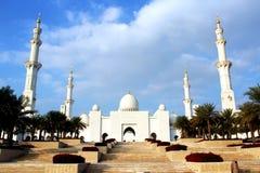 Sheikh μουσουλμανικό τέμενος Al Nahyan Zayed, Αμπού Ντάμπι Στοκ φωτογραφίες με δικαίωμα ελεύθερης χρήσης