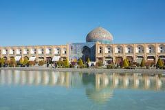Sheikh μουσουλμανικό τέμενος Lotfollah στο τετράγωνο naqhsh-ε Jahan στο Ισφαχάν στοκ εικόνες με δικαίωμα ελεύθερης χρήσης