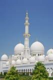 Sheikh μουσουλμανικό τέμενος Zayed στο Αμπού Νταμπί Στοκ εικόνες με δικαίωμα ελεύθερης χρήσης