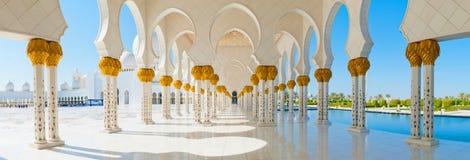 Sheikh μουσουλμανικό τέμενος Zayed Στοκ Φωτογραφία