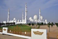 Sheikh μουσουλμανικό τέμενος Zayed στοκ εικόνες