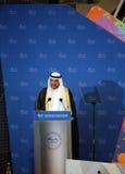 Sheikh Ahmad AI Sabah President of OCA Stock Photo