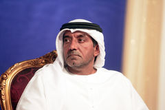 Sheikh Ahmed bin Saeed Al Maktoum Arkivfoton